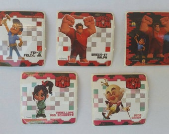 Wreck It Ralph Party Favor Stickers