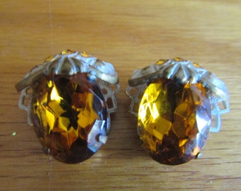 stunning amber clips