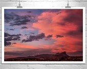 Photography, Sunset Photography, Landscape Art, Sky Photography, Sunset Art, Sky Art, Lava Beds, Modoc, Fine Art Photograph, MurrayBolesta