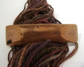 Large Hair Barrette, River Driftwood, french clip, lifetime guarantee, NO GLUE, natural hair accessory, long thick hair, wooden jewelry