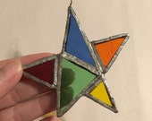 Stained Glass window ornament sun catcher