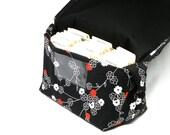 Coupon Organizer, Coupon Holder, Mega Large, Coupon Binder, Coupon Pocketbook Zen Blossom Fabric