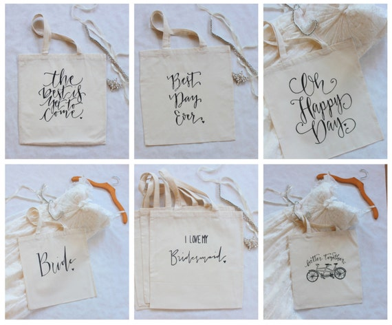 Bulk Tote Bag Order for Wedding Welcome Gifts - Set of 50