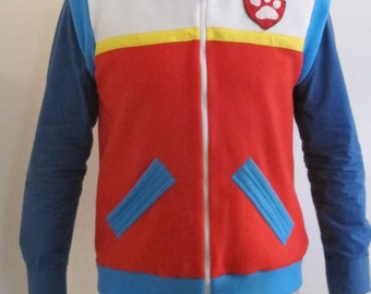 Paw patrol Ryder inspired vest for adults