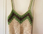 Large Crocheted Market or Beach Bag