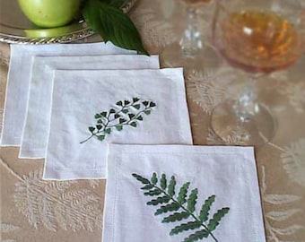 Leaves and Ferns Machine Embroidery Designs 247d