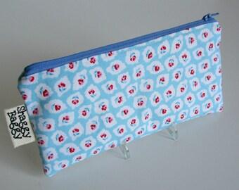 Pencil pouch, zipper case, pencil case, zipper pouch, storage pouch, organzier pouch, organizer zipper case