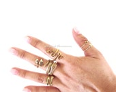 NEW - Snake Ring - Made in USA Bronze - Insurance Included