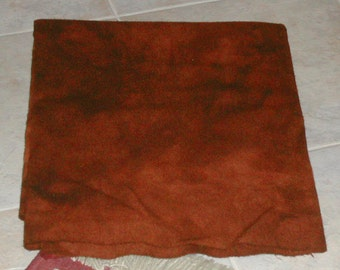 INDIAN SPICE hand-dyed wool for rug hooking and penny rugs
