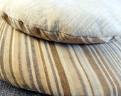 Washable Pet Bed,  Neutral Colors, Modern Fabric,  Eco Friendly Wool Stuffing, Cat Mat, Cozy Cat Bed