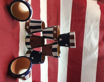 PATRIOTIC NAPKIN HOLDERS