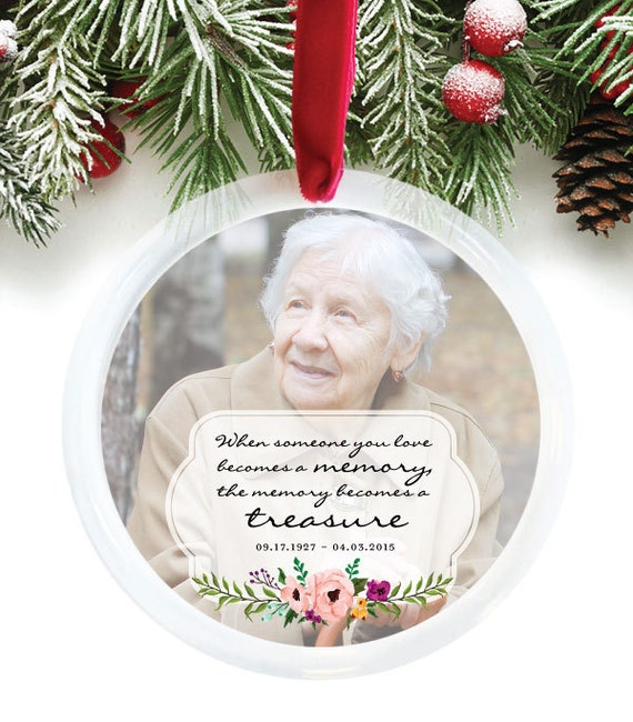 In Remembrance Christmas Ornaments