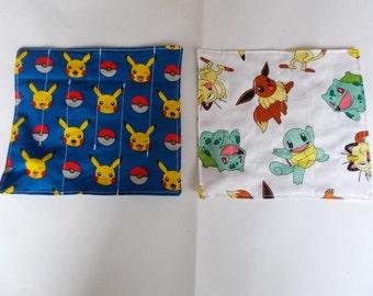 Pokemon Fabric Marble Maze Handmade x 2 ADHD Autism Sensory Fidget Toys