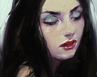 Original Oil Painting - Sleepwalk