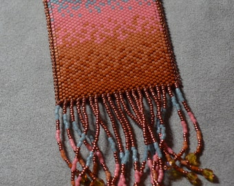 Pattern for Hombre Ombre Amulet Bag by Gail DeLuca