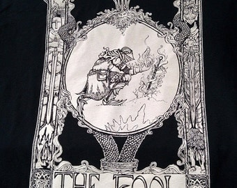 Praise the Sun Souls inspired tarot card Mens t-shirt The Fool