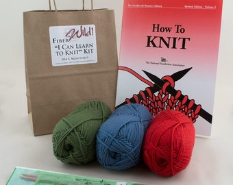 I Can Learn to Knit Kit