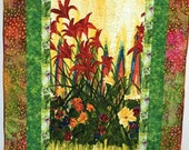 Black History Sale Give Yourself Flowers Growing Free 49X62 inch art quilt