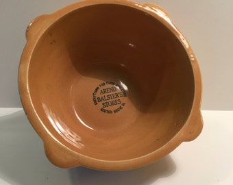 Vintage 1950s Arend Balster's Stores Crockery Mixing Bowl
