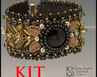 Totally Elegant Cuff Bracelet Kit black