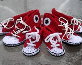 Comfy Crochet Sneaker Slippers. Cute Running Shoe Slippers Custom Order in Your Size and Color.