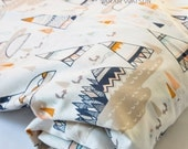 Woodland Crib Sheets, Changing Pad Covers, Made to Order