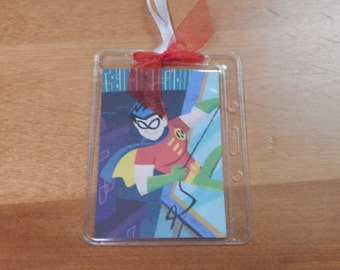 Luggage Bag Tag ID Holder Disney Robin