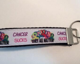 Cancer Sucks Key Fob