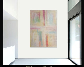 56x42 Ex large original modern abstract painting by Elsisy, US artist