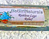 SALE Natural Aromatherapy Relief for Restless Legs
