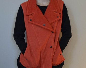 Hemp and Organic Cotton Fleece Vest