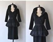 25% OFF SALE Claire Pearone dress | vintage 1950s dress | black 50s dress