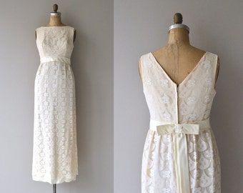 Calliope wedding dress | vintage 1960s wedding dress | 60s wedding dress