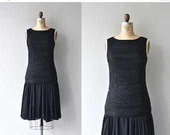 25% OFF SALE Little Louise dress   1920s beaded dress • vintage 1920s dress