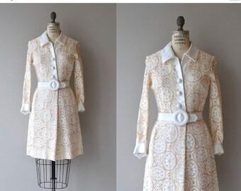 25% OFF.... Daydream Believer dress | vintage 1960s dress | Samuel Grossman 60s lace mini dress