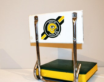 Vintage Green Bay Packers Stadium Chair / Display Piece