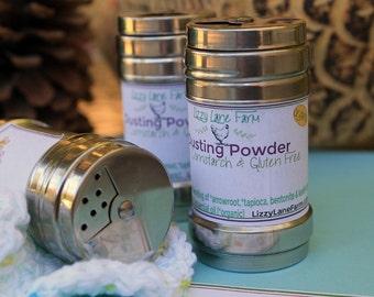Gardenia Body Powder | Dusting Powder | Natural Body Powder | Bath Powder | Talc, Cornstarch, GMO Free | Foot Powder | Dry Shampoo | Floral