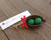 Peas In a Pod Christmas Ornaments for Couples, Christmas Ornaments for Newlyweds, Ornaments for Couples