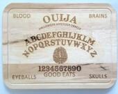 Ouija Cutting Board - Appetizer Board - Halloween