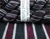 Gothic Plum - Hand-Dyed Self-Striping Sock Yarn