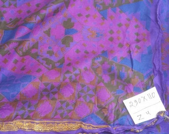 second-hand silk sari sections-Z 4