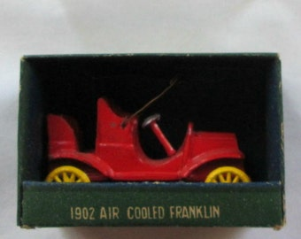 Vintage AHI Brand Toys Model 1902 Air Cooled Franklin with Box & Cover