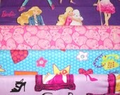 BARBIE #2 fabrics, sold individually,not as a group, sold by the Half Yard, please see body of listing
