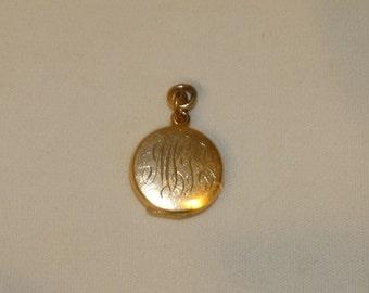 Antique Gold Filled Locket