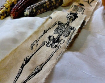 Skeleton Ribbon!  Perfect for All of Your Halloween Party Decorations!