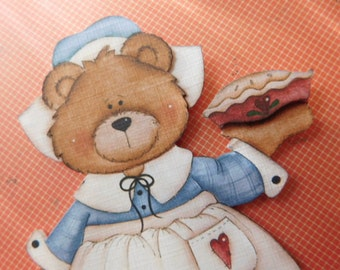 Lady Pilgrim Paper Piece for Thanksgiving Scrapbook Pages