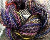 154+ yards 2 ply handspun Cheviot yarn
