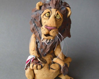 Badge of Courage Lion Sculpture