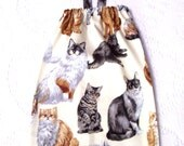 Plastic Bag Holder - Grocery Bag Holder - Bag Dispenser - Cats Bag Holder - SALE