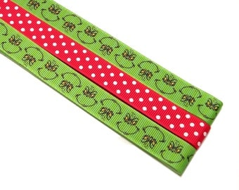 Pattern Magnet - Chart Keeper Magnetic Bookmark - Knitting Crochet Supplies Tools - Set of 3 - The Grinch